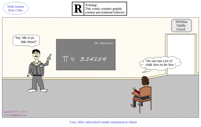 webcomic 76 math teacher from cuba pi day tony