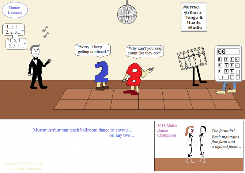 webcomic 93 maths dance lessons with murray arthur