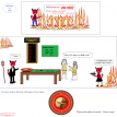 weekly math webcomic 61 roulette in hell