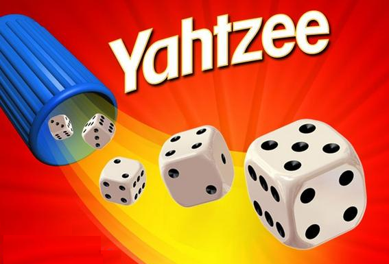 yahtzee image and 5 dice